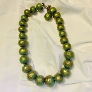 🌟5/$25🌟 Metallic Green Necklace